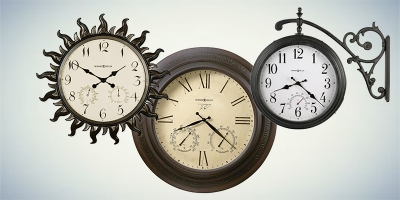 Кварцевые уличные часы