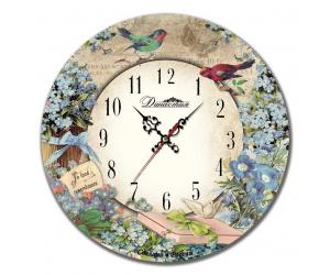 Настенные часы Династия из дерева