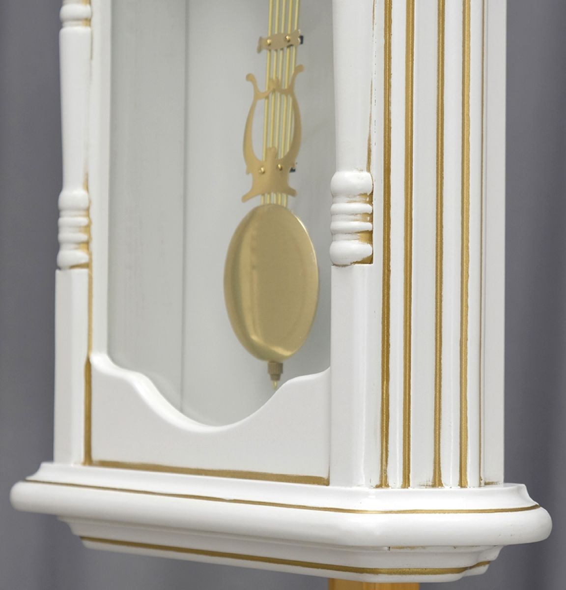 Настенные часы Columbus Co-1890-PG-Wh с маятником и боем