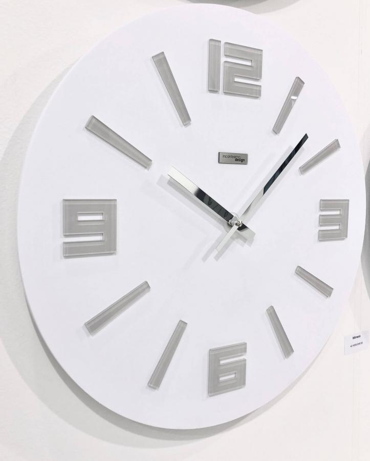 Настенные часы Incantesimo Design 555 BGR Mimesis (Белый)