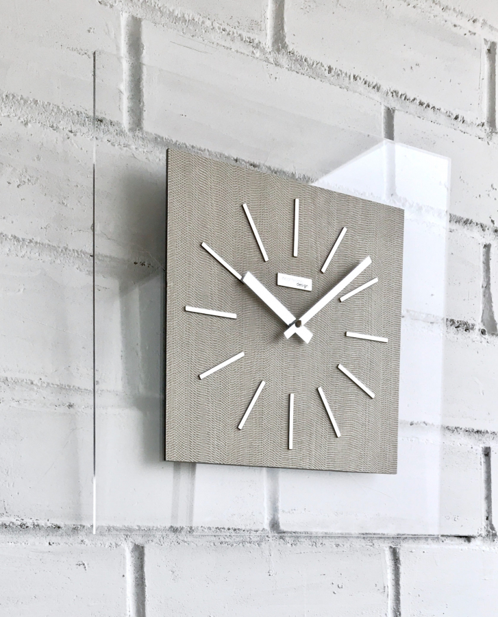Настенные часы Incantesimo Design 155 TC Idilia (Светлый лён)