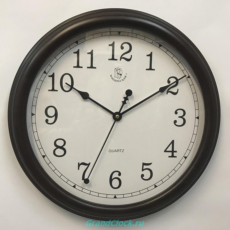 Настенные часы WOODPECKER в деревянном корпусе 8009 (09)