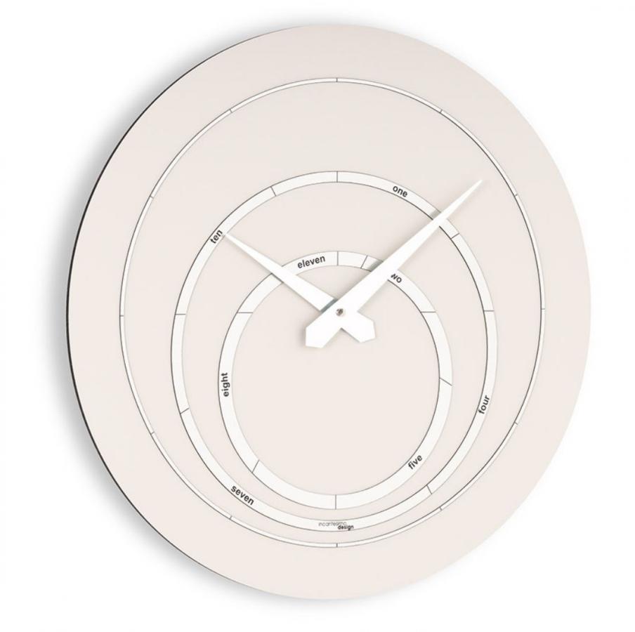 Настенные часы Incantesimo Design 193 MV Orbitarium (Ваниль/Шампань)