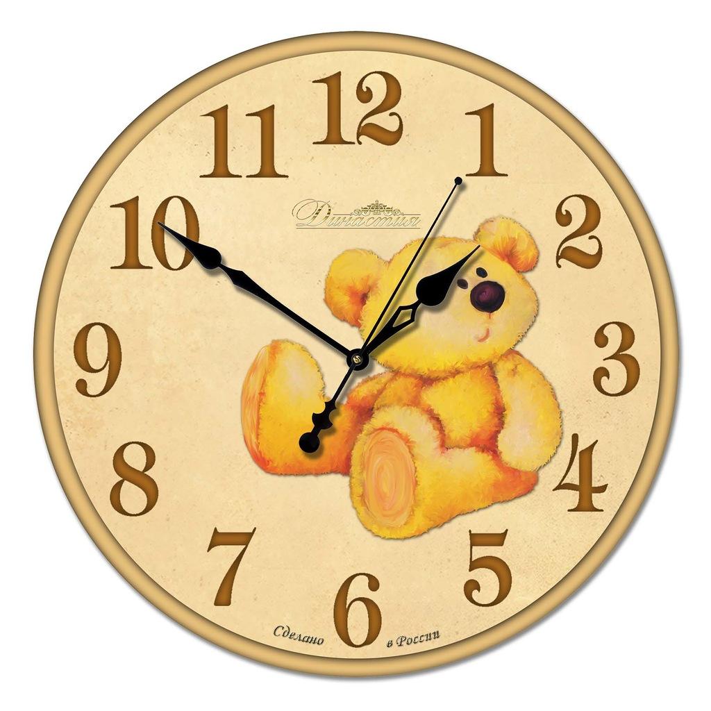Часы детские настенные картинка