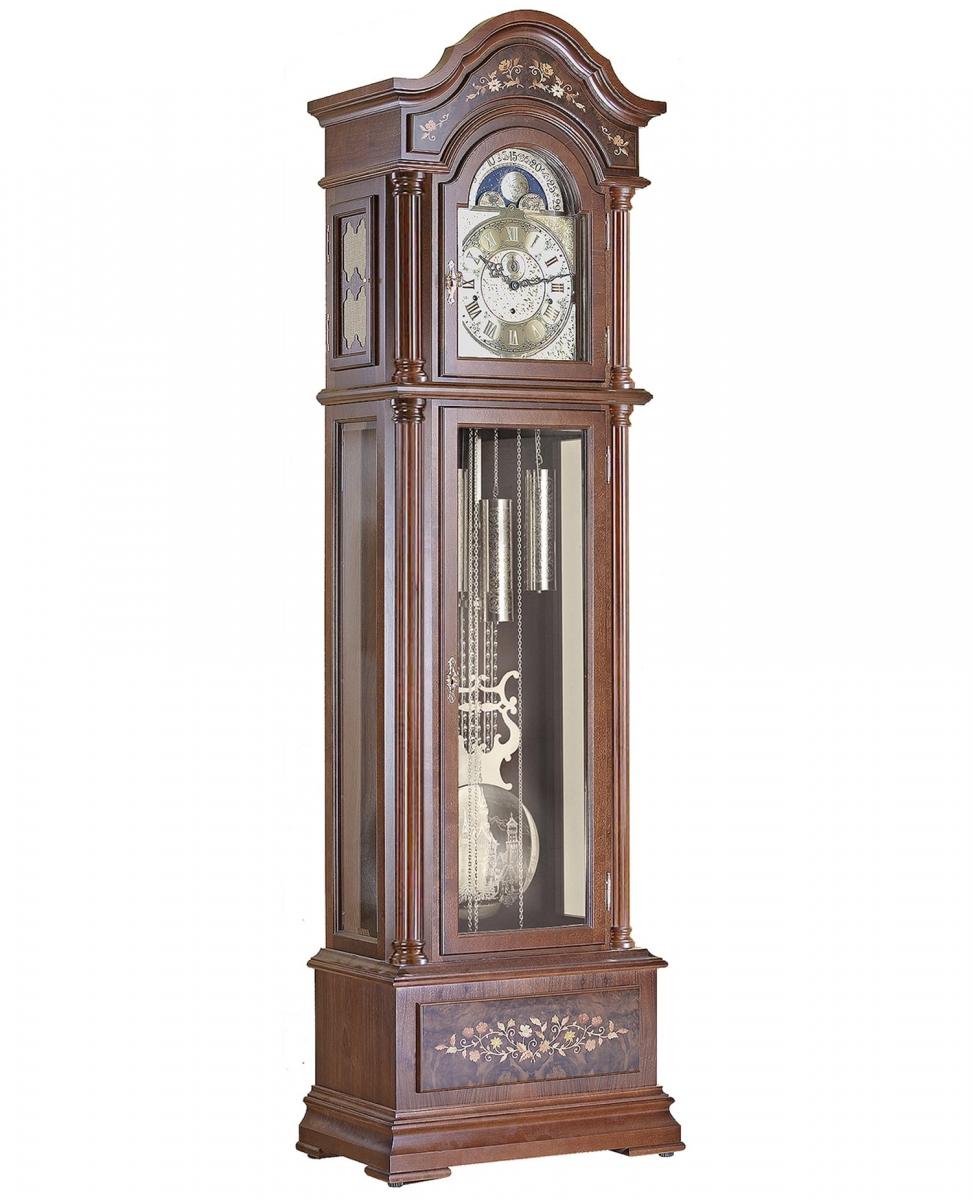 Напольные механические часы Hettich Uhren 0051-501161 (орех)