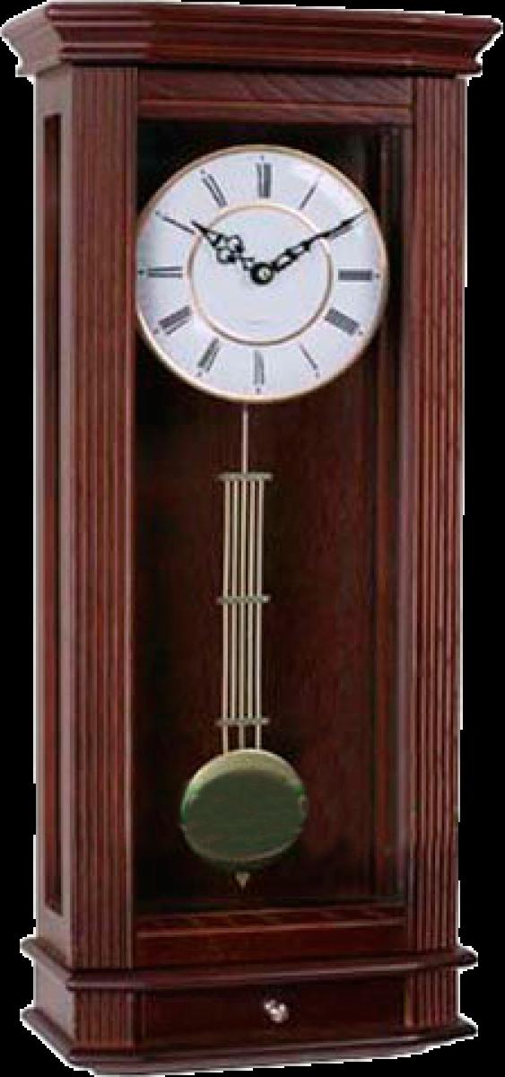 Настенные часы с маятником и мелодией WOODPECKER 9357W(M) (07)