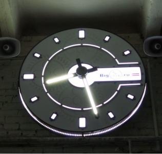 Фасадные часы 000-2115
