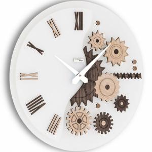 Настенные часы Incantesimo Design 052 W Mekkanico