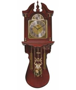 Настенные часы Sinix 100A(R) под красное дерево