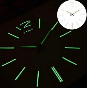 Светящиеся настенные часы Time 12-001 Lum