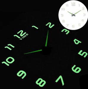 Светящиеся настенные часы Time 12-002 Lum