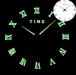 Светящиеся настенные часы Time 12-003 Lum