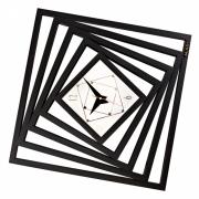 Настенные часы Mado 835 BLACK (MD 262) «Дороги»