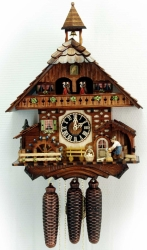 Настенные часы-кукушка Hoenes 86787T