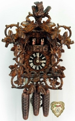 Настенные часы-кукушка Hoenes 86790/5Tnu