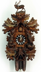 Настенные часы-кукушка Hoenes 8748/4nu