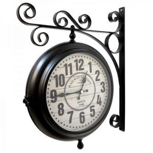 Настенные двусторонние часы GALAXY AYP-820 Black