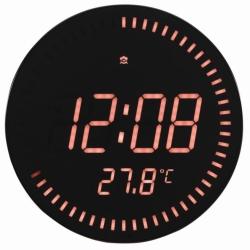 Настенные часы с будильником UNIEL BV-10R