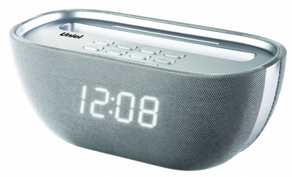 Настольные часы с будильником UNIEL BV-Q-17WSU
