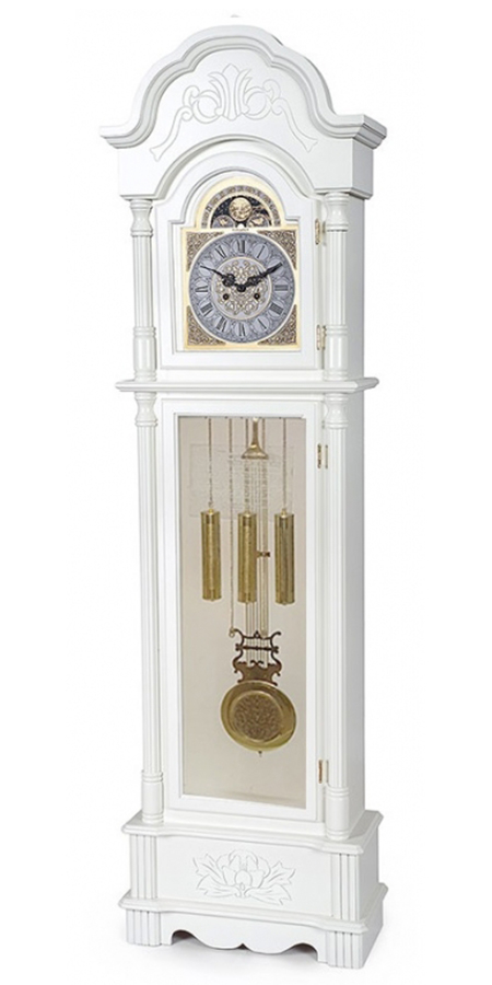 Напольные часы Columbus CL-9222 White/Gold