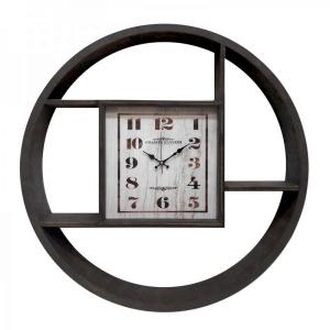 Настенные часы GALAXY DA-001 черные