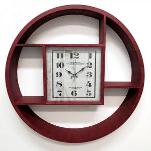 Настенные часы GALAXY DA-001 красные