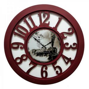 Настенные часы GALAXY DA-004 бордовые