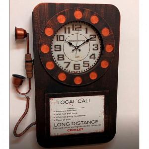 Настенные часы GALAXY DA-006 черные