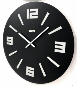 Настенные часы Incantesimo Design 555 NRG Mimesis (Чёрный)