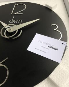 Настенные часы Incantesimo Design 501N Diem