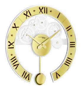 Настенные часы Incantesimo Design 134 Gold Genius pendulum
