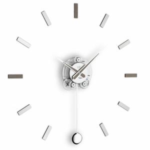 Настенные модульные часы с маятником Incantesimo Design 202 GRA Illum pendulum