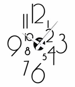 Настенные модульные часы Incantesimo Design 211 N Liberum (Чёрный)