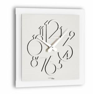 Настенные часы Incantesimo Design 118 MS Metropolis (Серебристый металлик)