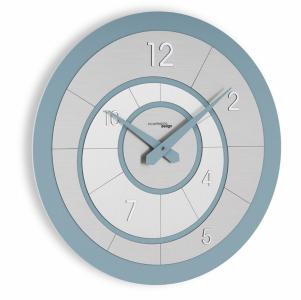 Настенные часы Incantesimo Design 195 MZ Alium (Морская волна/Серебристый)