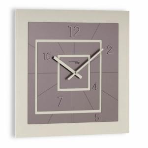 Настенные часы Incantesimo Design 196 AT Nexus (Бежевый/Антрацит)