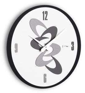 Настенные часы Incantesimo Design 531 N Adsum (Чёрный)
