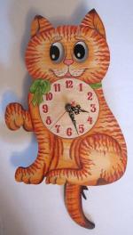 "Часы настенные ""Кошка"""