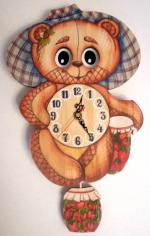 "Часы настенные ""Медведь"""