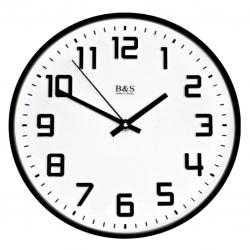 Настенные часы B&S SHC-251PEM(BL)