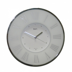 Настенные часы B&S SHC300GQR(W)