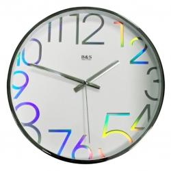 Настенные часы B&S SHC-300CHA(W)