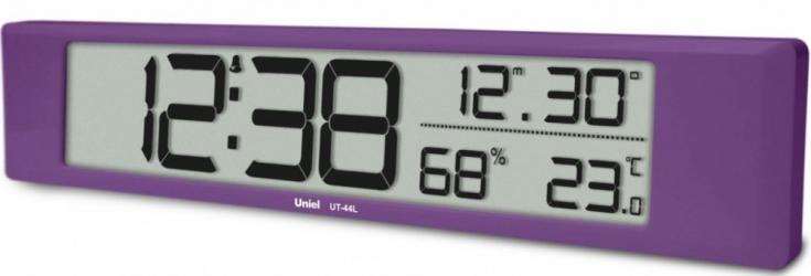 Настольные часы с будильником UNIEL UT-44L