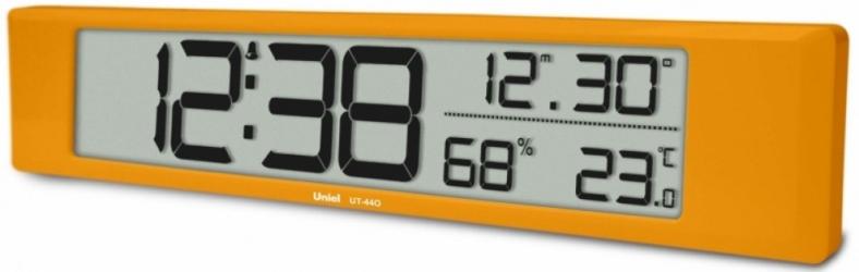 Настольные часы с будильником UNIEL UT-44O