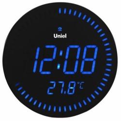 Настенные часы с будильником UNIEL BV-10B