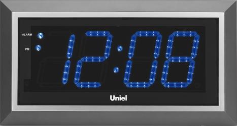 Настенные часы с будильником UNIEL BV-11BSL