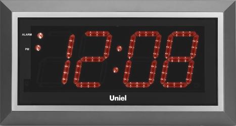 Настенные часы с будильником UNIEL BV-11RSL