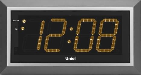 Настенные часы с будильником UNIEL BV-11YSL