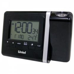 Настольные часы с будильником UNIEL UTP-80