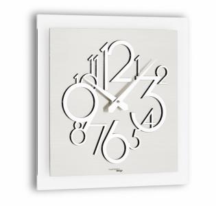 Настенные часы Incantesimo Design 118 ML Metropolis (Зеркальный металлик)